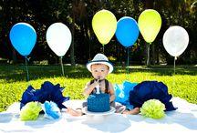 1 歳の誕生日パーティー