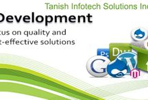 Tanish Infotech / We are a leading provider of Web development services like Website designing and development, SEO, ERP, Ecommerce website development in Pune, India