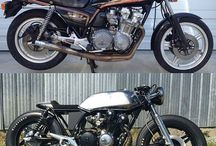 Moto before & after