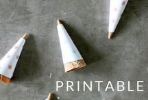 Favorite Free Printables / Favorite Free Printables from bloggers and graphic designers around the web - seasonal printables - art prints - organizing printables - checklists - home printables - and more!