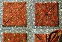 Цветы из ткани и фетра / Изготовление текстильных цветов