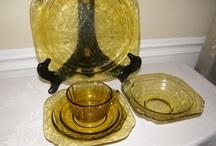 Amber glass / by Lois Walton