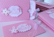 Invitations baby girl / Invitatii fetita