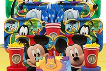 Mickey Mouse Party Ideas / Mickey Mouse is one character that is never going away. If your little one loves this Disney character, here are ways to throw the perfect themed party from WholesalePartySupplies.com.