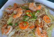 rice and noodles / rice noodles recipes and rice / by agnusdei
