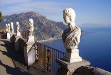 Ravello (Just 35 km from the B&B) / #ravello #amalficoast #spiagge #italy #pompei #coteamalfitane #costieramalfitana #faunopompei #travel #sea #beach #hotelravello #bedandbreakfast #alberghi #hotel #coast #excursions - Ravello, which, with its breathtaking views, at the top of its 350 meters above sea level, with its beautiful patrician villas (Rufolo and Cimbrone), the cathedral of San Pantaleone, have enchanted over the centuries important writers, artists - See more at: http://www.bbfauno.com/eng/what-you-see/amalfi-coast.html / by B&B Pompei Il Fauno