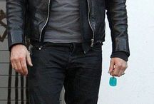 Outfit black leather jacket