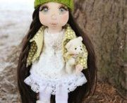 Interior dolls and toys / handmade dolls and interior toys