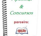 """Blog Apostilas e Concursos / """"Dicas, Informações e Novidades sobre Concursos Públicos""""."""