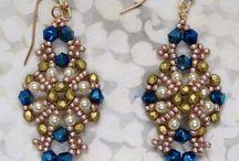 Biżuteria koralikowa kolczyki / Kolczyki