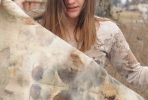 photo shooting eco print / eco print e natura