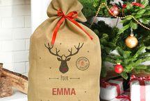 Ho Ho Ho c'est pour Noël :) / idées de cadeau de Noël décorations de Noël Noël vintage