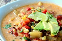 Soup + Stew Recipes / A board full of delicious and healthy soups and stews to get us through the winter season!