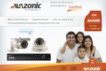 AVAZONIC - Perfect Solution For All Your Surveillance Needs / Avazonic aims to lead the way into innovation in security. Avazonic offers security solutions that are easy-to-install and easy-to-use. It makes affordable solutions that cater to everyone's need, from households to businesses irrespective of their sizes. Customer satisfaction is at the heart of Avazonic. We are here to keep listening to our customers and create great products for them. We are on our toes to provide great service, delivered with a smile.