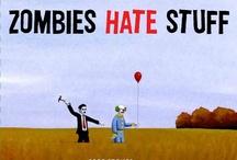 Braaaiiiinnnnsss!!! / All things zombified. / by Corey Bond