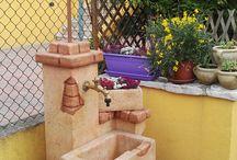 fontane muratura - fuentes de mampostería