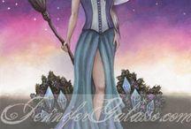 Zodiac Witches / Jennifergalasso.com/magickal/zodiacwitches.html