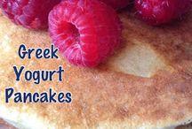 Recipes with Greek yogurt