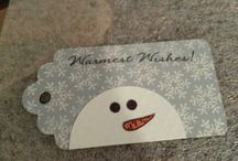 Stampin' Up tags