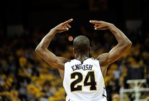 Missouri's men's basketball Big 12 Season 2012 / by Columbia Missourian