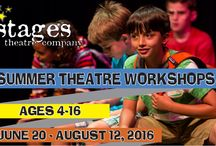SUMMER THEATRE WORKSHOPS / SUMMER THEATRE WORKSHOP: 2016 IS COMING!! IMPORTANT DATES: SUBSCRIBER ON-SALE: January 26, 2016 at Noon* PUBLIC ON-SALE: February 2, 2016 at Noon *There's still time to become a SEASON SUBSCRIBER to get access to early registration!