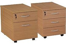 Drawer Pedestals / Office Desk drawer pedestals
