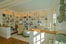 Home Library Ideas / Ideas and inspiration for a home library