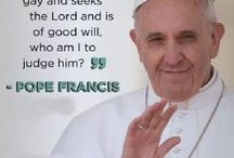 get over it-Pope Francis has it right