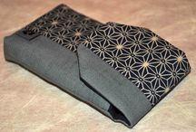 Handytaschen / Handytaschen aus japanischen Stoffen von NORIKO handmade