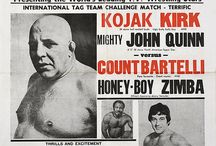 Vintage Boxing Posters.