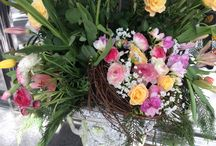 Art in Bloom 2016 / NC Museum of Art in Raleigh NC  April 7 - 10, 2016 Exhibit of stunning floral arrangements . Patio and Hearth Shop designed the entrance to the exhibit in the west wing portico.