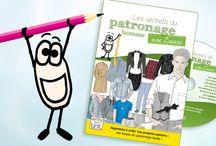 """DVD Patronage Homme de Mode pour LoL / Le DVD """"Les Secrets du Patronage Homme avec Zouzou"""" offre une formation complète de Patronage Homme et vous explique tout !"""