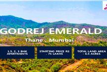 Godrej Property / Godrej Emerald a brand new project by Godrej Group on  Thane, Mumbai.