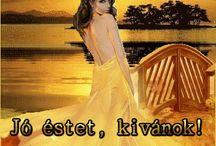 Good evening Szép estét kívánok