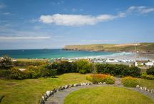 Seaview - a self-catering holiday cottage in Polzeath, North Cornwall by Latitude50. / As its name suggests, Seaview stands on the front row of Tristram Cliffs above Polzeath Beach, commanding far-reaching views across the ocean.   Find out more here: http://www.latitude50.co.uk/our-cottages/polzeath-holiday-cottages/seaview