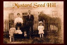 "mustard seeds.... / ""if you have faith as a grain of mustard seed..... Matt: 17:20"