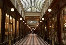 Passages Couverts / Covered passages and galleries in Paris