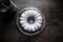 bundt, chiffon & pound cakes