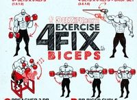4 Exercise Fix - Bicep workout routine #bicepworkout #bicepexercises #arms
