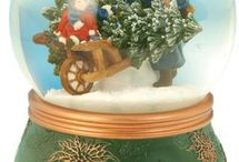 Palle di vetro con neve  Snow globe ❤