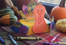 Thanksgiving Crafts / This Thanksgiving, get inspired through festive crafting ideas, from decorating the table to keeping the kids busy. / by Crayola