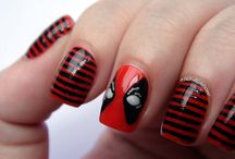 nails marvel and dc