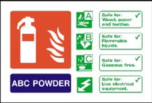 Fire safety signs / The fire signs available from The Sign Shed are fully compliant with current British Standards (BS5499).  In order to conform to current UK legislation, buildings must display clear fire exit signs and emergency signs.  Fire exit signs are designed to indicate the direction and location of the nearest Emergency Exit.  The EEC Directive (EEC/92/58) from 1992 introduced graphical symbols, or pictograms (the running man), as the main element of the fire safety sign, alongside simple text.