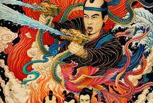 Asian Illustration and Art