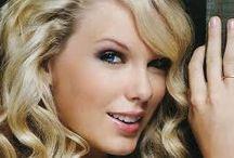 taylor swift / se trata de una famosa cantante, muy linda, su color de pelo de ojos de piel son hermosos.