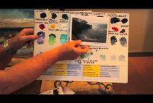 Creative Video Tutorials / Creative Visual Tutorials on Art, Design, Crafting, etc. Mastering Techniques