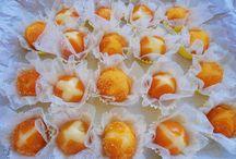 Docinhos de laranjinha kinkan