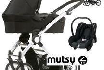 Mutsy - Transporter - Kinderwagen - Bebeqo / http://www.bebeqo.nl/mutsy-transporter-zwart-kinderwagen-reiswieg-autostoel