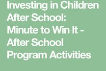 After School Program Ideas
