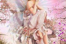 tündérek- angyalok -pillangók